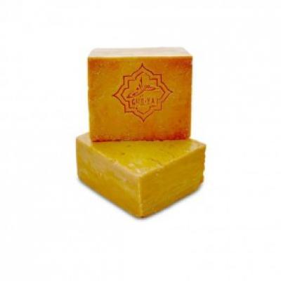 Восточное лечебное мыло с маслом дикой фисташки (от перхоти, экземы, прыщей) Bahir